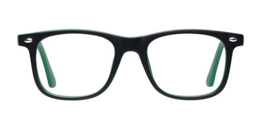 Oxygen Matte Black/AquaGreen
